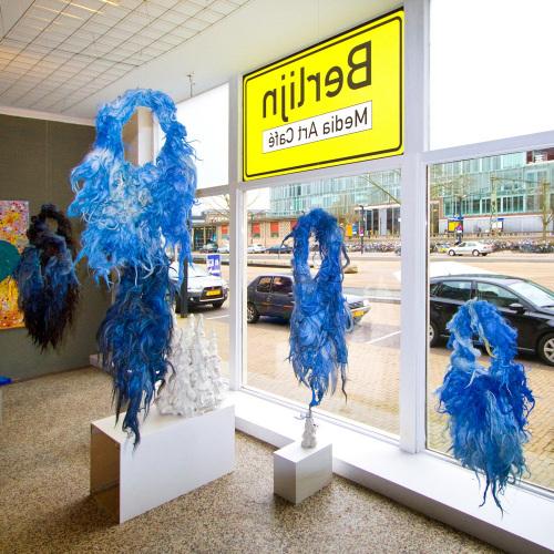 Expositie 'Blauw' in Mac Berlijn Enschede april 2011